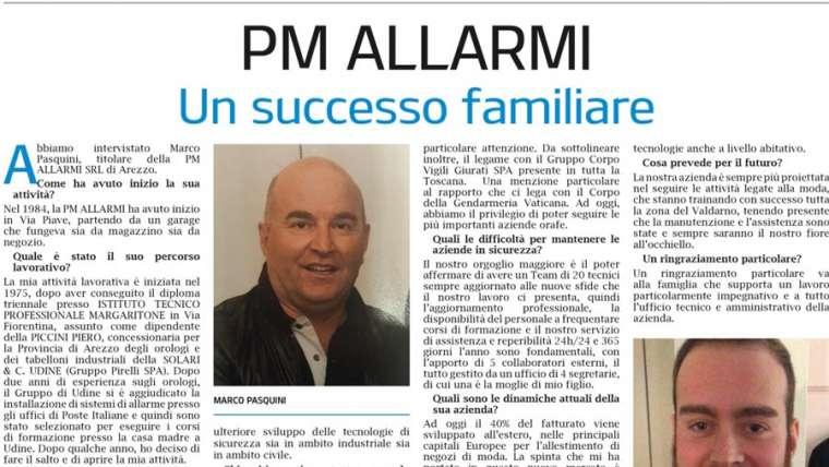 PM Allarmi: Un successo familiare