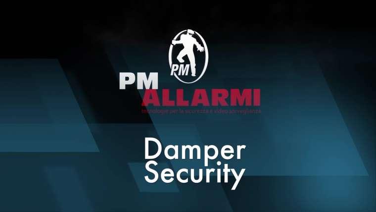 NOVITA'! Damper Security – Sistema antiscasso applicato su serrande e vetrine con attivazione nebbiogeno