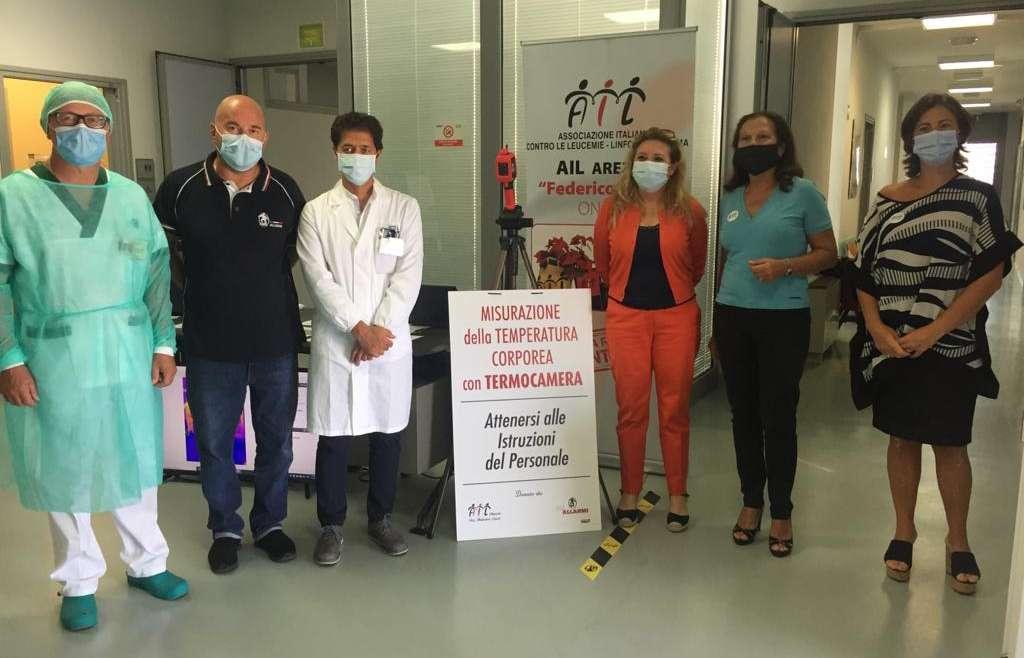Ospedale La Fratta: donazione di Termoscanner