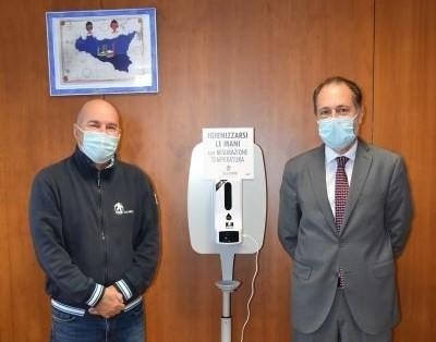 Contrasto Covid-19, tre termoscanner in dono alla Polizia di Stato