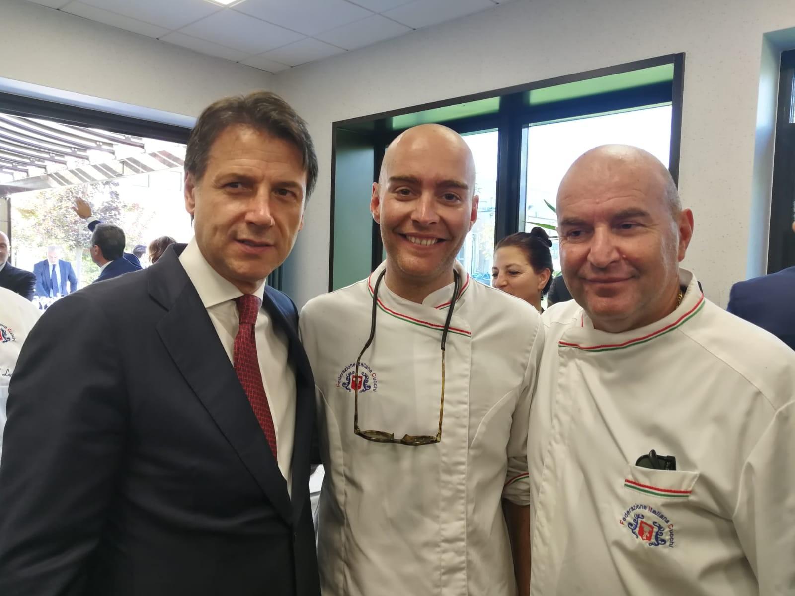Visita del Presidente in Irpinia. PM Allarmi presente insieme a Italian Taste Lodovichi!